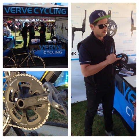 VerveCycling with their new Infocrank spec'd with Praxis.